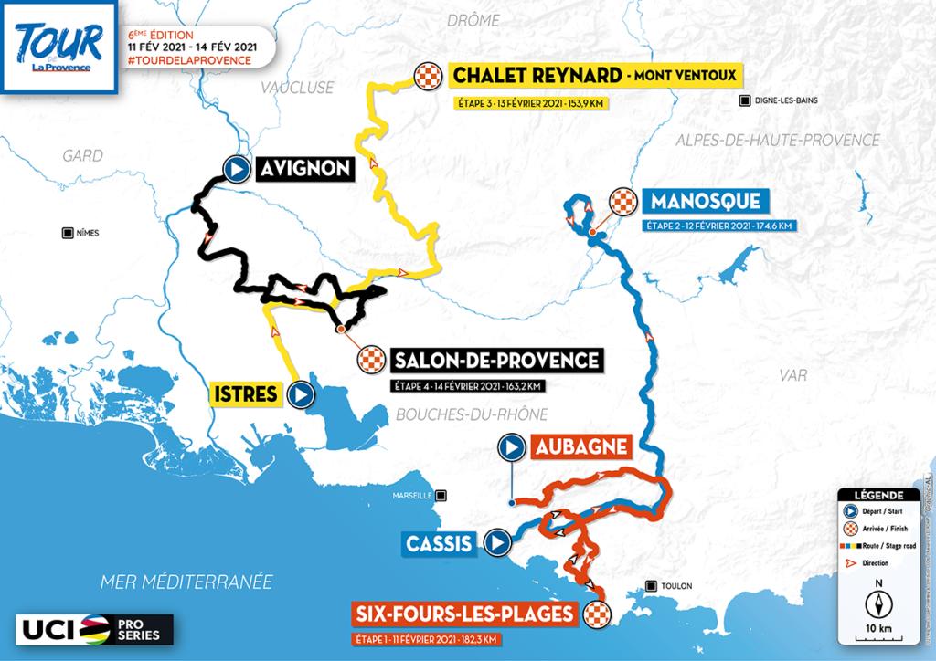 1. etapa. Tour de la Provence
